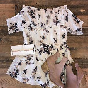 Pants - Etiquette Boutique floral romper